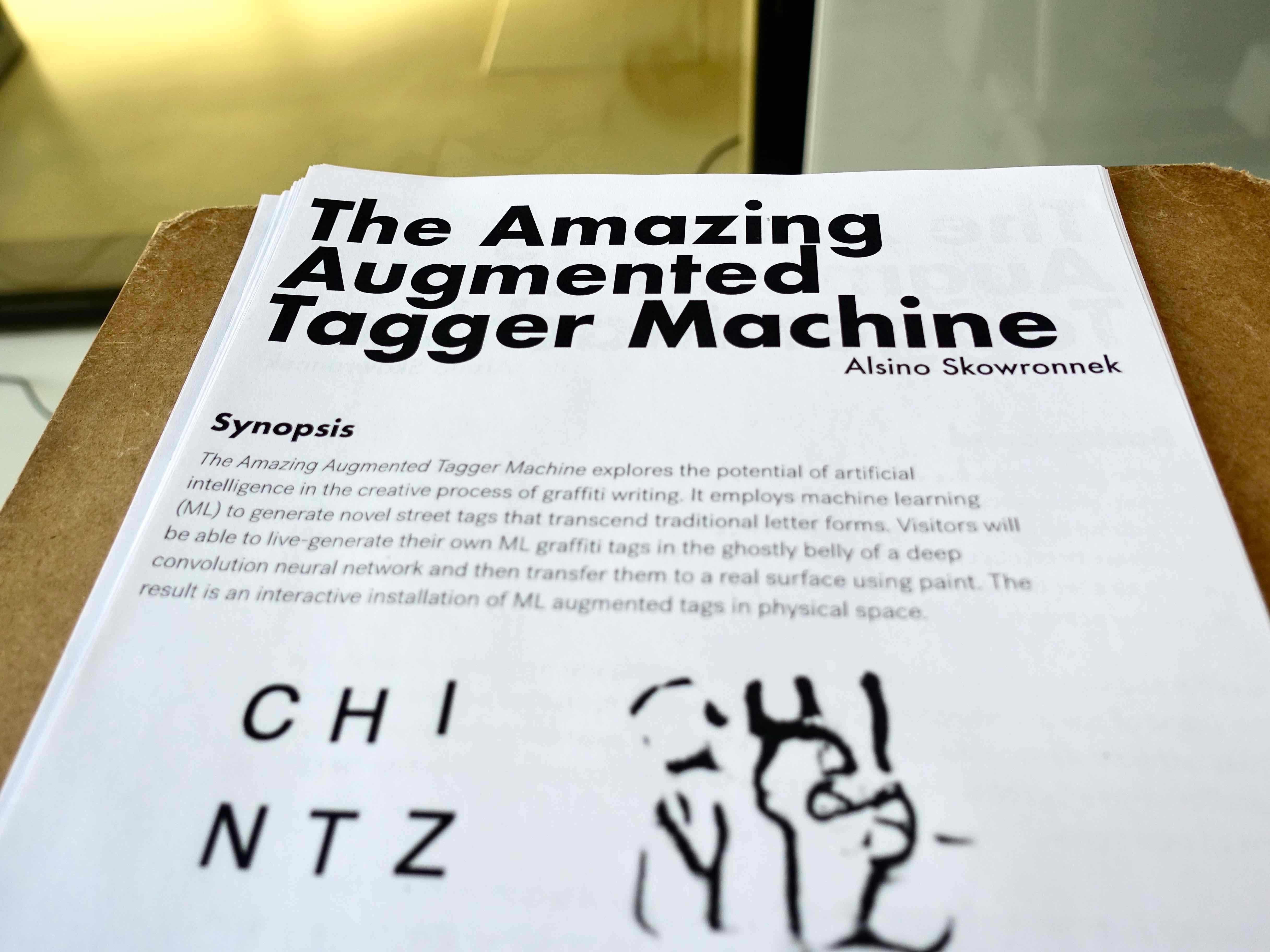 alsino skowronnek The Amazing Augmented Tagger Machine – Pt 2: The Wall